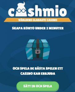 Spela på världens gladaste casino - Cashmio!