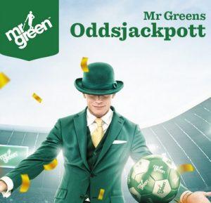 Vinn en oddsjackpott på Mr Green!