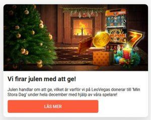 Min Stora Dag kampanj på LeoVegas Casino!
