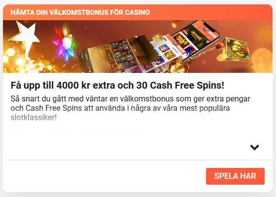 Ge ditt bidrag nu på LeoVegas Casino!