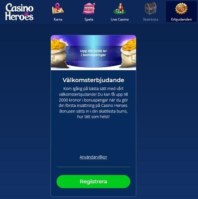 Vad hände med Casino Heroes?