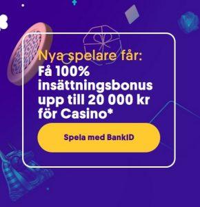 Hämta din Casumo casino 20 000 kr bonus nu!